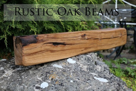 Rustic Oak Mantels