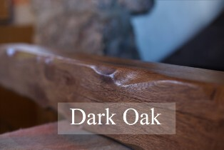 Dark Oak Mantels