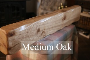 Medium Oak Mantels